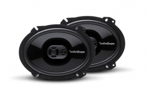 ROCKFORD FOSGATE PUNCH Triaxial P1683 15x20cm oval Triax Lautsprecher Paar