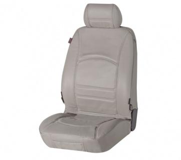 Sitzbezug Sitzbezüge Ranger aus echtem Leder grau SMART ForFour