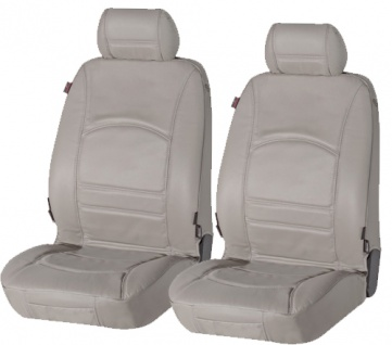 Sitzbezug Sitzbezüge Ranger aus echtem Leder grau Lancia Delta