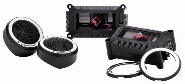ROCKFORD FOSGATE POWER Tweeter Set T1T-S 25mm Hochtöner Set Auto Lautsprecher