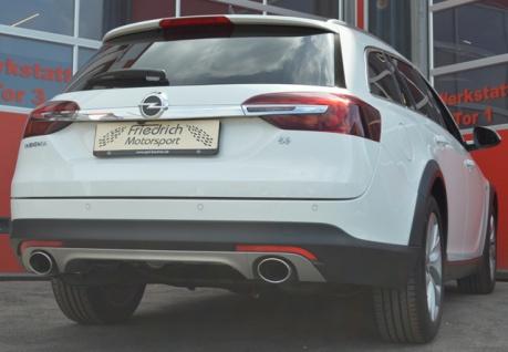 Friedrich Motorsport Duplex Auspuff Sportauspuff Auspuff Opel Insignia Country Tourer