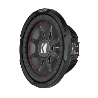 "KICKER 10"" Woofer CompRT101 25cm Auto Hifi Subwoofer Bassbox 800 W MAX"