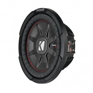 "KICKER 10"" Woofer CompRT102 25cm Auto Hifi Subwoofer Bassbox 800 W MAX"