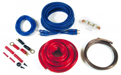 Autotek AT 20 KIT Endstufe Verstärker Installations Kit 20mm² Kabelkit Anschluss