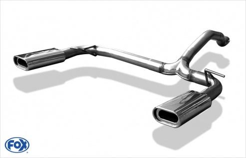Fox Duplex Endrohrsystem Mercedes M-Klasse W163