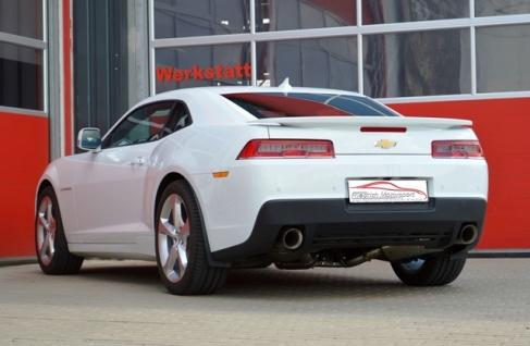 Friedrich Motorsport 76mm Duplex Auspuff Sportauspuff Anlage Chevrolet Camaro