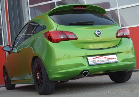 Friedrich Motorsport Gruppe A Sportauspuff Auspuff Anlage Opel Corsa E