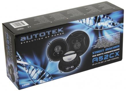 AUTOTEK Koax-System 13cm Lautsprecher 2-Wege Koax 13 cm A52CX 320 Watt max.Paar