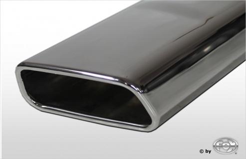 Fox Duplex Auspuff Sportauspuff Endschalldämpfer Mercedes E-Klasse Coupe/ Cabrio - Vorschau 2