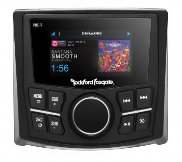 "ROCKFORD FOSGATE PMX-1R Fernbedienung mit 2, 7"" TFT Farb Display für PMX-8BB"