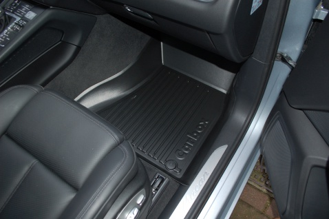 Carbox FLOOR Fußraumschale Gummimatte vorne rechts Porsche Macan 95B 04/14-