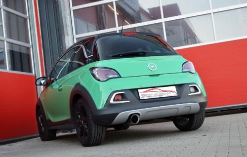 Friedrich Motorsport Sportauspuff Auspuff Auspuff Opel ADAM ROCKS Bj. 2014-