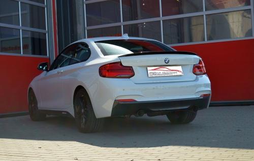 Friedrich Motorsport 76mm Auspuff Sportauspuff Anlage BMW 2er F22/F23 - Vorschau 2