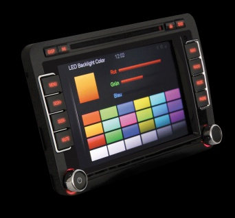 ESX VNS 735 VO-U1 Multimedia-Ceiver 2 DIN Doppel-DIN TMC Radio USB Bluetooth WMA