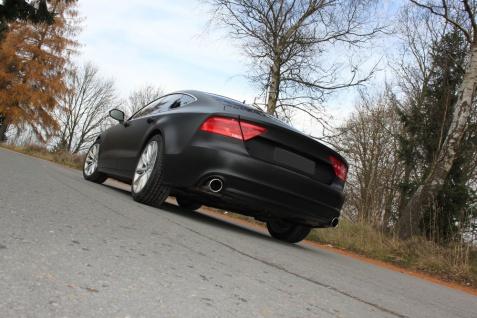 Fox Duplex Auspuff Sportauspuff Komplettanlage Audi A7 quattro 4G 3, 0l TFSI