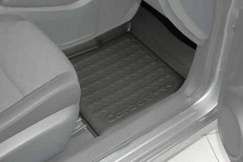 Carbox FLOOR Fußraumschale Gummimatte Nissan Qashqai 04/2014 vorne rechts