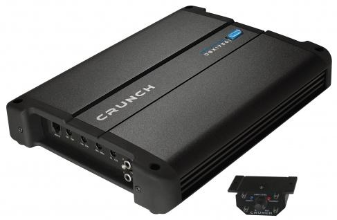 CRUNCH Monoblock Endstufe Verstärker 12V CarHifi Bass Amp 750 Watt