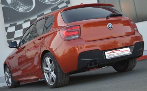 Friedrich Motorsport 70mm Auspuff Sportauspuff Endschalldämpfer BMW 1er F20/F21