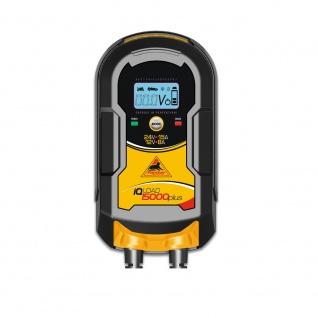 Panther IQLoad 15000 plus Batterie Ladegerät 12V 24V Starthilfe Säurebatterie AGM