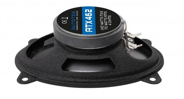 """AUTOTEK Koax-System 10x15"""" Lautsprecher 2-Wege Koax ATX-462 280 Watt max.Paar"""
