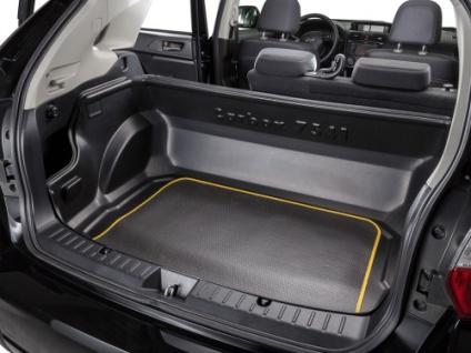 Carbox CLASSIC Kofferraumwanne VW Polo Steilheck für die ganze Ladefläche