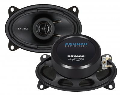 CRUNCH DEFINITION KOAX DSX462 Lautsprecher Auto Boxen Set 140 Watt PKW KFZ