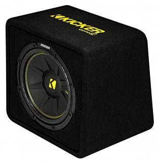 KICKER Bassreflexbox VCompC124 Subwoofer Bassreflexbox 30 cm 600 Watt