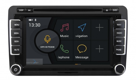 ESX Naviceiver VN735-VO-U1 VW Golf 5 Golf 6 Plus DVD Bluetooth Navi Multimedia