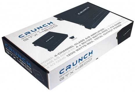 Crunch Gravity 4-kanäle Verstärker Endstufe Auto Pkw Kfz Gtx-4600 - Vorschau 5
