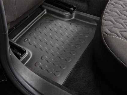 Carbox FLOOR Fußraumschale Gummimatte Fußmatte Fiat Panda hinten links