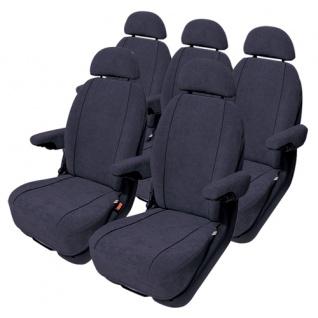 Van Sitzbezug Sitzbezüge Auto PKW Profi Schonbezug Mercedes Viano Trend