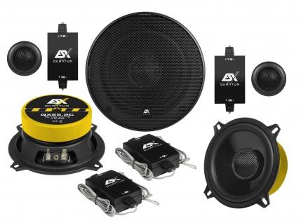 ESX QUANTUM 2-Wege System QXE-5.2C Lautsprecher Set Auto Boxen Paarpreis