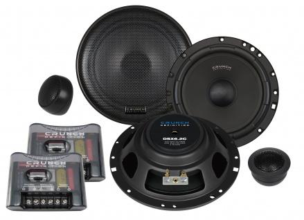 CRUNCH DEFINITION KOMPO 16, 5cm DSX6.2C Autolautsprecher Lautsprecher Auto Boxen