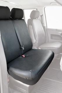 VW T6 Transporter Bj. 04/15- Schonbezug Sitzbezug Sitzbezüge - Vorschau
