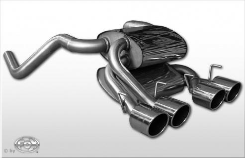 Fox Auspuff Sportauspuff Sportendschalldämpfer Corvette C06 6, 0 298kW 6, 2l 321kW