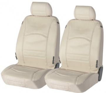 Sitzbezug Sitzbezüge Ranger aus echtem Leder beige SKODA Praktik