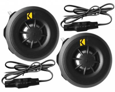KICKER 20 mm Tweeter mit Weiche CST20 Car Hifi Lautsprecher System Paar 100W