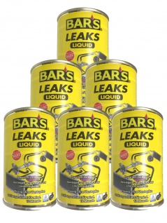 6x Dr. Wack BARS Leaks Liquid Kühlerdichtung Kühlerdichtmittel 150g