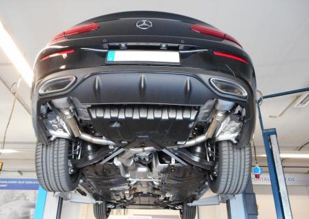 Fox Duplex Auspuff Sportauspuff Sportendschalldämpfer Mercedes E-Klasse/ Class - Vorschau 2