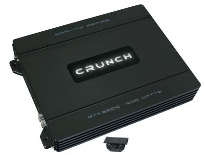 CRUNCH GRAVITY 2-Kanal Verstärker Endstufe KFZ Auto PKW Verstärker GTX 2600