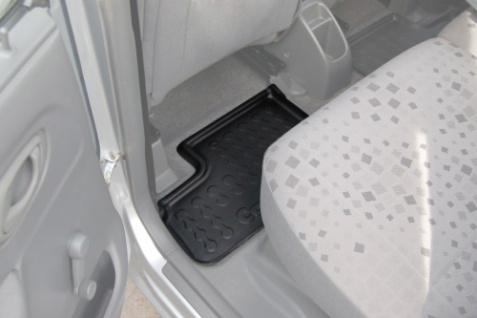 Carbox FLOOR Fußraumschale Gummimatte Fußmatte Suzuki Wagon R+ hinten links