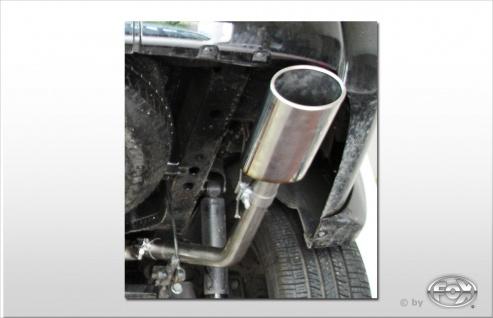 Fox Auspuff Sportauspuff Endrohrsystem Dodge Nitro 3, 7l 151/157kW 4, 0l 191kW