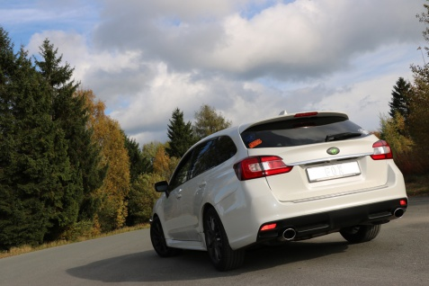 Fox Duplex Auspuff Sportauspuff Endschalldämpfer Subaru Levorg 1, 6l 125kW Bj.15-