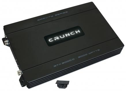 CRUNCH GRAVITY Monoblock Endstufe Verstärker Digital GTX-3000D Bass 1500 Watt