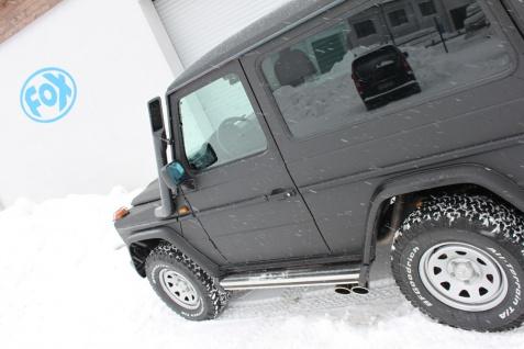 Fox Sportauspuff Komplettanlage Mercedes G-Klasse/ Typ - 463 3, 0l - Vorschau 5