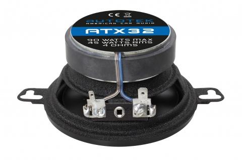 AUTOTEK Koax-System 8, 7 cm Lautsprecher 2-Wege Koax ATX-32 180 Watt max.Paar