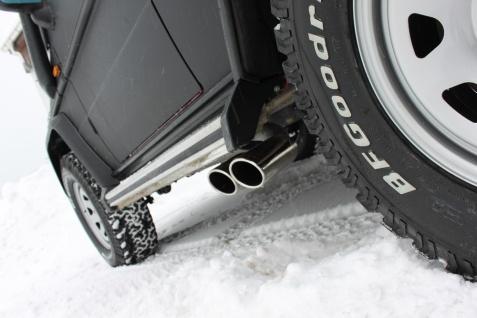 Fox Sportauspuff Komplettanlage Mercedes G-Klasse/ Typ - 463 3, 0l - Vorschau 3