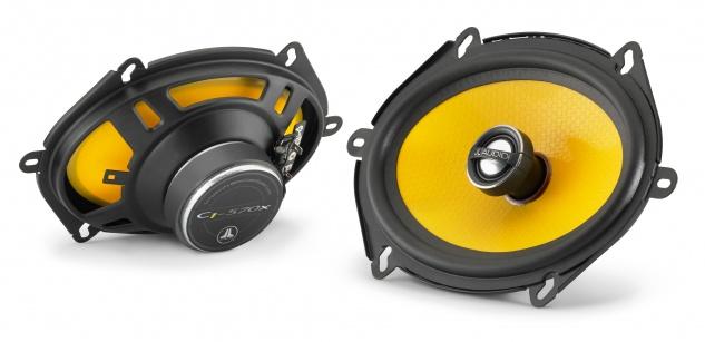 """JL AUDIO 5x7"""" Koax-System C1-570x 2 Wege Koax Lautsprecher Paar - Coax Speaker"""
