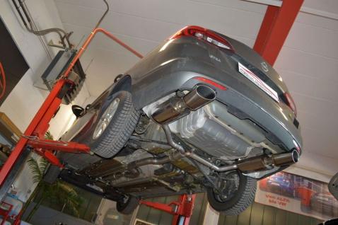 Friedrich Motorsport 76mm Sportauspuff Anlage Opel Astra K Sports Tourer Bj. 15-