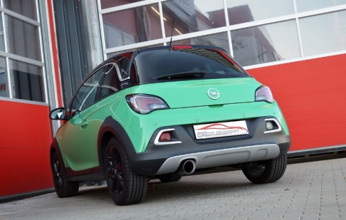 Friedrich Motorsport Gruppe A Sportauspuff Auspuff Anlage Opel ADAM ROCKS